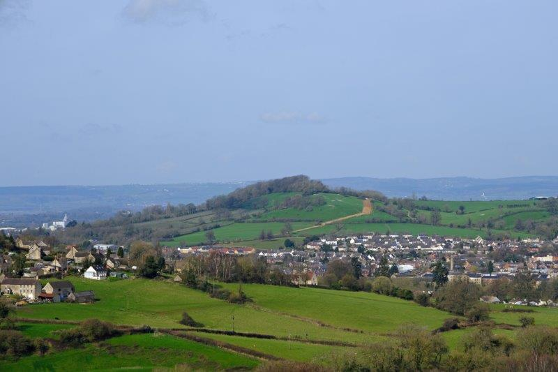 Looking across to Doverow