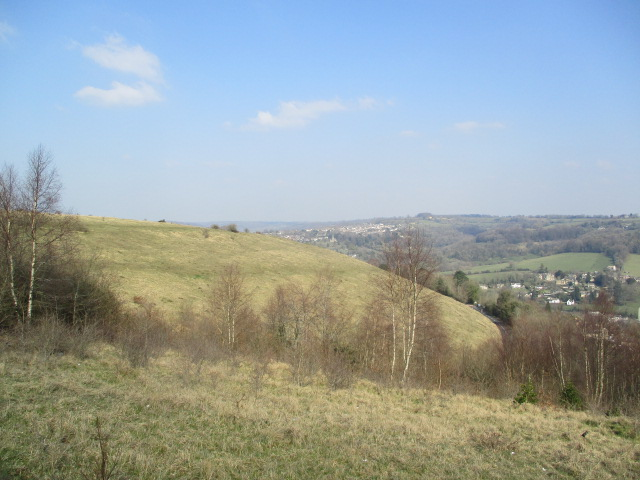 And towards Stroud on a beautiful day.