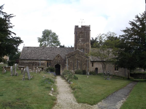 St Andrew's Church (12th century) at Sevenhampton